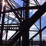 Robe el puente Imagenes de archivo