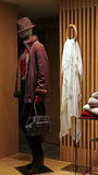 Robe et sac à main d'hiver de dames Photos stock