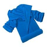 Robe longue à la maison bleue image libre de droits