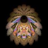 Robe longue indigène de clavette Photos stock