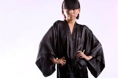 Robe longue noire photo libre de droits