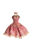 Robe rose Photographie stock