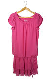 Robe rose Photographie stock libre de droits