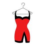 Robe rouge image libre de droits