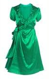 Robe verte photographie stock