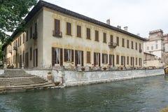 Robecco-sul Naviglio, Mailand Stockfotografie