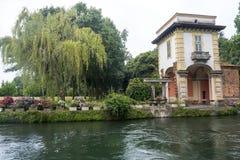 Robecco-sul Naviglio, Mailand Lizenzfreies Stockfoto