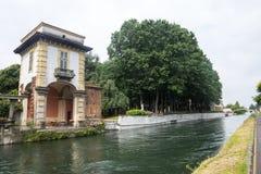 Robecco sul Naviglio (Milan) Royalty Free Stock Photography