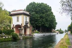 Robecco sul Naviglio, Milan Stock Photo