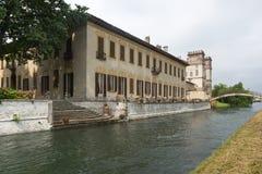 Robecco sul Naviglio, Milan Stock Image