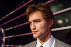 Robert Ντάγκλας Thomas Pattinson στο μουσείο της κυρίας Tussauds στοκ εικόνες