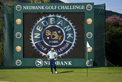 Robert Allenby - enjeu 2009 de golf de Nedbank Photo libre de droits