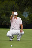 Robert Allenby - prend le but - NGC2009 Photo libre de droits