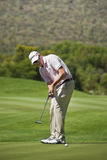 Robert Allenby - Putting Out 17th - NGC2010 Royalty Free Stock Photography
