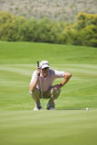 Robert Allenby - Putting Out 17th Stock Image