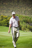 Robert Allenby - Putting Out 17th Stock Images