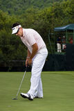 Robert Allenby - Putts Out on the 17th Stock Photography
