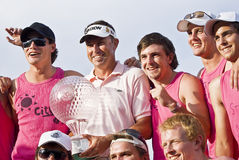 Robert Allenby - Winner Royalty Free Stock Photography