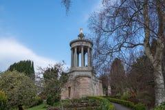 Μνημείο εγκαυμάτων του Robert σε Alloway κοντά σε Ayr Σκωτία στοκ εικόνες με δικαίωμα ελεύθερης χρήσης