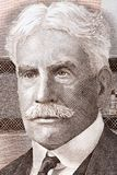 Robert Borden portrait. From Canadian money Stock Photo