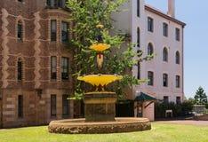 Robert Brough fountain Sydney Hospital Stock Images