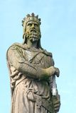 Robert the Bruce. Statue of King Robert the Bruce in Stirling, Scotland stock photos