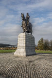 Robert The Bruce King de l'Ecosse Photographie stock libre de droits