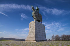 Robert Bruce Monument, Bannockburn stock photos