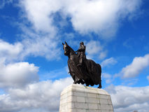 Robert Bruce, Slag van Bannockburn Stock Afbeelding