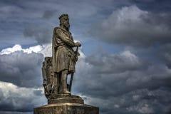 Robert Bruce Statue immagine stock libera da diritti