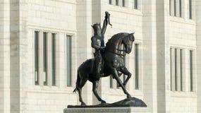 Robert The Bruce Statue Aberdeen Scozia Fotografia Stock Libera da Diritti