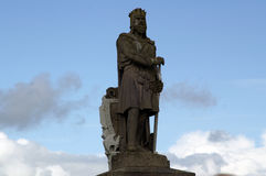 Robert Bruce Statue Stock Images