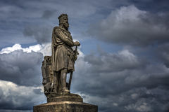 Robert the Bruce Statue Royalty Free Stock Image
