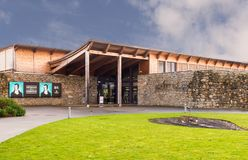 Robert Burns Birth Place & museo Alloway Scozia Fotografie Stock Libere da Diritti