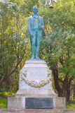 Robert Burns Monument in Golden Gate Park in San Francisco Stockfotografie