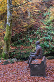 Robert Burns Statue Aberfeldy Stock Images