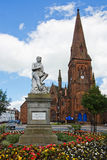 Robert Burns Statue Dumfries Royalty Free Stock Image