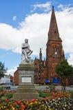 Robert Burns Statue Dumfries Royalty Free Stock Image