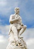 Robert Burns. Statue, in Dumfries Scotland Royalty Free Stock Photo