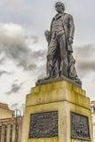 Robert Burns Statue Royalty Free Stock Photo
