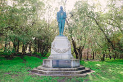 Robert Burns Statue Golden Gate Park Royalty Free Stock Photo