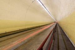 Robert C Levy aka Broadway Tunnel in San Francisco. The Robert C. Levy Tunnel, better know as the Broadway Tunnel in San Francisco Stock Images
