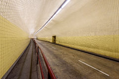 Robert C Levy aka Broadway Tunnel in San Francisco. The Robert C. Levy Tunnel, better know as the Broadway Tunnel in San Francisco Royalty Free Stock Photography