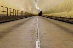 Robert C Levy aka Broadway Tunnel in San Francisco. The Robert C. Levy Tunnel, better know as the Broadway Tunnel in San Francisco Royalty Free Stock Image