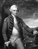 Robert Clive, 1st Baron Clive. (1725-1774) on engraving from 1832. British officer who established the military and political supremacy of the East India Royalty Free Stock Photos