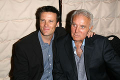 Robert Conrad. Shane Conrad and Robert Conrad at a Pacific Pioneer Broadcasters Radio and Television Ceremony Honoring Robert Conrad. The Sportsmen's Lodge Stock Photos