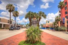 Robert controversé E Monument de Lee à Fort Myers du centre photographie stock libre de droits