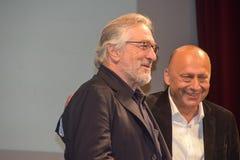 Robert de Niro, 22$η τελετή έναρξης φεστιβάλ ταινιών του Σαράγεβου, καρδιά του Σαράγεβου Στοκ Φωτογραφίες