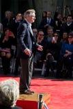Robert De Niro Chinese Theatre. LOS ANGELES - FEBRUARY 04 : Robert De Niro at the Handprint Ceremony at Chinese Theatre for Robert De Niro, at 6925 Hollywood Stock Photography