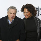 Robert De Niro and Grace Hightower Stock Image